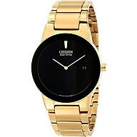 Citizen Eco-Drive Men s AU1062-56E Axiom Gold-Tone Watch thumbnail