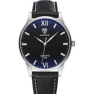 Đồng hồ nam Siêu Mỏng YAZOLE YA318 Doanh Nhân 2020 Sang trọng Dây Da PU cao Cấp thumbnail