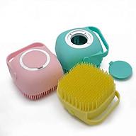 bông tắm silicon tiện dụng - màu ngẫu nhiên thumbnail