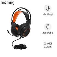 Tai nghe chụp tai Gaming MozardX DS902 7.1 Đen - Hàng Chính Hãng thumbnail