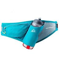 Túi đai đeo bụng hông chạy bộ màu xanh nước biển tặng kèm bình nước 600ml thumbnail