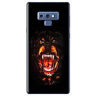 Ô p Lưng Dành Cho Samsung Galaxy Note 9 - Chó Nền Đen thumbnail