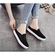 Giày sục nữ thời trang phong cách Hàn Quốc, Giày nữ thoáng khí mùa hè, chống hôi chân - MH128 thumbnail
