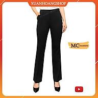 Quần Tây Nữ Đen, Xanh Tím Than Mc Fashion, Lưng Cao, Cạp Đứng, Kiểu Dáng Công Sở, Ống Côn Vẩy Q0405 thumbnail