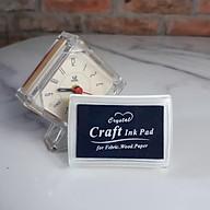 Hộp Mực Dấu Craft Ink Pad - Màu Xanh Dương Đậm thumbnail