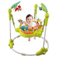 Ghế nhún Konig Kids có đèn, nhạc và thanh đồ chơi thumbnail