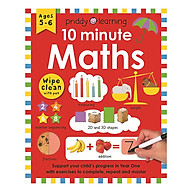 Priddy Learning 10 Minute Maths Wipe Clean Workbooks (Ages 5+) thumbnail