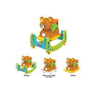 Bập bênh nhún gấu Teddy 4 in 1 Hàn Quốc thumbnail