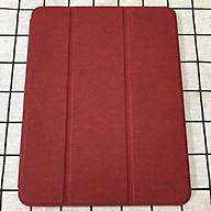 Bao da chính hãng Mutural cao cấp cho iPad Pro 12.9 2020 có khay đựng bút - Đỏ thumbnail