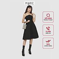 Đầm nữ MARC FASHION 2 dây nơ ngực hoạ tiết dập nổi thumbnail