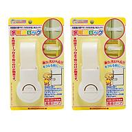 Combo 2 Khóa ngăn kéo, tủ lạnh bảo vệ trẻ em nội địa Nhật Bản thumbnail