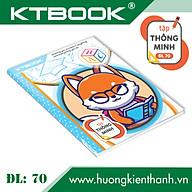 Gói 10 cuốn Tập Học Sinh Cao Cấp KTBOOK Thông Minh giấy trắng tốt ĐL 70 - 96 trang thumbnail