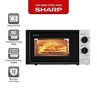 Lò Vi Sóng Sharp 20 Lít R-G225VN-BK 700W - 1000W - Hàng Chính Hãng Bảo Hành 12 Tháng thumbnail