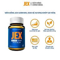 Viên uống JEX giảm đau, bảo vệ xương khớp với Eggshell Membrane, Collagen Peptide, Collagen Type II không biến tính (60 viên) thumbnail
