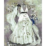 Tranh sơn dầu số hóa rẻ,đẹp-tranh tô màu theo số- tranh số hóa, Tặng khăn,khung gỗ 40x50-Moon shop-V7 thumbnail