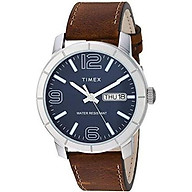 Timex Men s Mod 44 Leather Strap Watch thumbnail