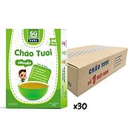 Thùng cháo tươi Nhuyễn Sài Gòn Food Tôm & Bắp 150g x30 hộp thumbnail