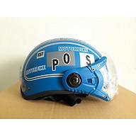 Mũ bảo hiểm có kính SPO - Mũ bảo hiểm nửa đầu có kính chống bụi thời trang thumbnail