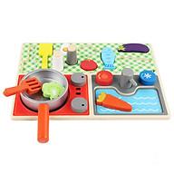 Đồ chơi bếp - Bếp gỗ thời trang cho bé thumbnail