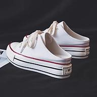 Giày sục vải nữ đôn đế thumbnail