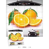 Giấy dán tường nhà bếp, miếng dán bếp chống bắn dầu mỡ, chịu nhiệt cao, giúp trang trí bếp thêm hiện đại 60x90cm thumbnail