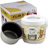 Nồi Cơm Điện 1.8L Fujika FJ-NC1815 Nắp Gài Công Suất 800W Phủ Lớp Chống Dính Polyethersulfone Cao Cấp Cho 4-7 Người Ăn (Họa Tiết Ngẫu Nhiên)-Hàng Chính Hãng thumbnail