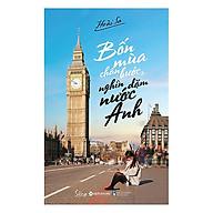 Bốn Mùa Chân Bước, Nghìn Dặm Nước Anh(Tặng Kèm Bookmark Tiki) thumbnail