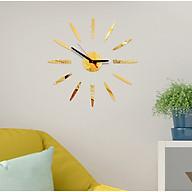 Đồng hồ treo tường 3D tự lắp ráp phong cách Châu Âu hiện đại DH83 thumbnail