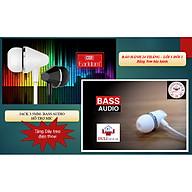 (TẶNG DÂY TREO ĐIỆN THOẠI) Tai nghe Bass Audio Jack 3.5mm Dành cho các dòng điện thoại - HÀNG CHÍNH HÃNG EARLDOM E12 thumbnail