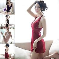 Đầm Ngủ Sexy Đồ Ngủ Nữ Chất Đẹp - Có Video Thật Ren Mềm Mịn Đầm Ngủ Nữ Quyến Rũ(VV) thumbnail