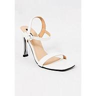 Giày Sandal Gót Nhọn Da Rắn Sulily SG1-IV20TRANG màu trắng thumbnail