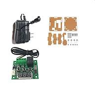 Combo mạch cảm biến kiểm soát nhiệt độ XH-W1209 bao gồm mạch cảm biến kèm hộp mica và nguồn 12VDC 1A thumbnail
