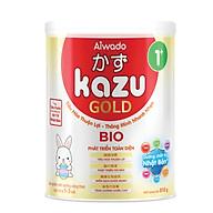 [Tinh tuý dưỡng chất Nhật Bản] Sữa bột KAZU BIO GOLD 810g 1+ (từ 12 đến 24 tháng) thumbnail