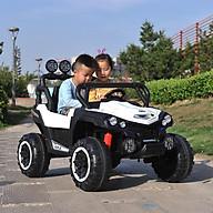 Ô tô xe điện siêu địa hình NEL 903 đồ chơi vận động cho bé 2 ghế 2 động cơ lớn (Đỏ-Trắng-Xanh) thumbnail