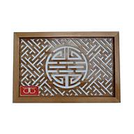 Tấm chống ám khói hương bàn thờ mẫu chữ Thọ -TL306 thumbnail