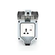 Hộp bảo vệ ổ điện ngoài trời chống nước chuẩn IP66 LG-DNT-001 Đơn hoặc đôi - Hàng chính hãng thumbnail