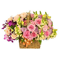 Giỏ hoa tươi - Vườn Hoa Muôn Sắc 3976 thumbnail