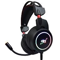 Tai nghe gaming PUG G-net GH9 âm thanh 7.1 (USB) Led RGB Hỗ trợ rung - Hàng Nhập Khẩu thumbnail