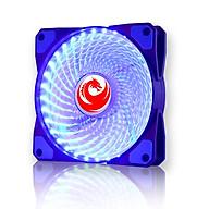 Tản Nhiệt Fan Case 12cm 33 Bóng LED Red Dragon -Màu xanh thumbnail