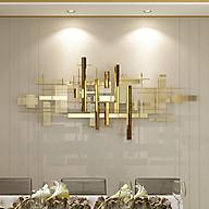 Phù điêu trang trí trừu tượng mạ vàng sáng bóng GZ233 1,5m thumbnail