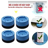 Combo 4 Chân Đỡ Đa Năng Bằng Nhựa - Chân Đế Kê Máy Giặt Chống Rung Chống Ồn thumbnail