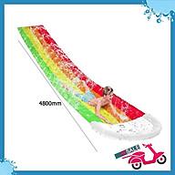 Phao trượt nước Rainbow Waterslide dài 4.8 mét thumbnail
