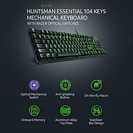 Razer Huntsman Essential Mechanical Keyboard 104 Keys Wired RGB Backlight Gaming Keyboard with Razer Optical Switches thumbnail