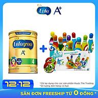 Combo 1 Lon Sữa Bột Enfagrow A+ 4 1.75kg Tặng Bộ Đồ Chơi Bowling thumbnail