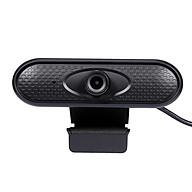 HD 1080P Web Camera Manual Focus USB Webcam Computer Camera Built-in Microphone Drive-free Camera for PC Laptop Black thumbnail