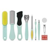 10PCS Pedicure Care Kit Stainless Steel Foot File Callus Remover Foot Rasp Toenail Clipper thumbnail