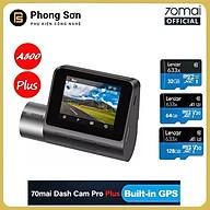 Camera hành trình 70mai Dash Cam Pro Plus , 70mai A500 Quốc tế , Tích hợp sẵn GPS - Hàng Chính Hãng thumbnail