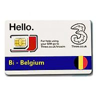Sim Du lịch Bỉ - Belgium 4G Tốc độ cao thumbnail