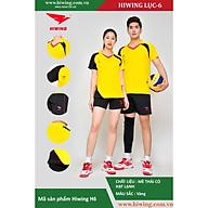 Bộ quần áo Bóng Chuyền cao cấp thương hiệu Hiwing H6 màu vàng thumbnail