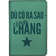 Bao Da Hộ Chiếu PASSPORT Mika Nhộng DCRSCCS-001-001-P (19 x 14 cm) - Xanh lá thumbnail